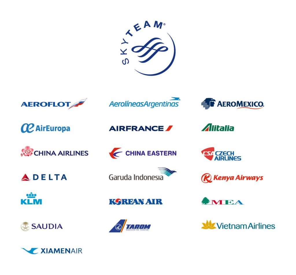 天合联盟各航空公司成员介绍(Sky Team)