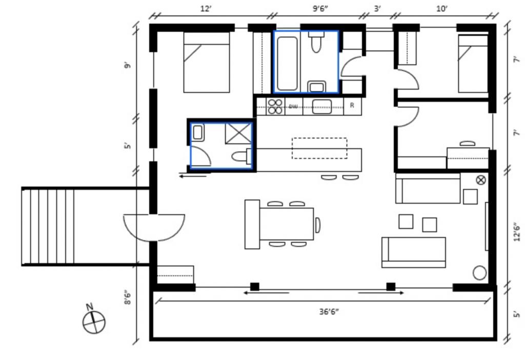 如何读懂户型图 (Floor Plan)