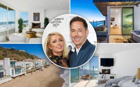 """帕丽斯-希尔顿与未婚夫卡特-鲁姆在马里布价值1110万元的房子里 """"放纵 """"起来"""