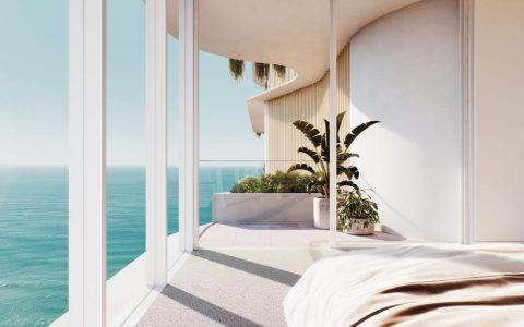 当地人重新设计主海滩上价值599万元的La Mer顶层公寓