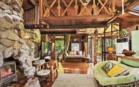 设计师的热带雨林度假胜地,有令人难以置信的树屋供出售