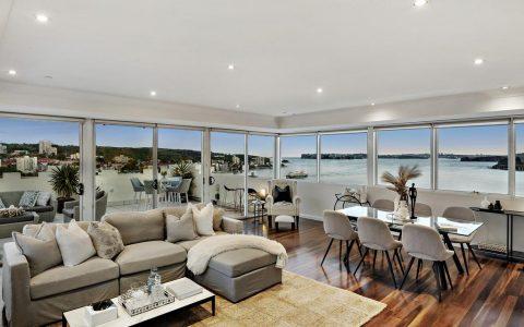 公寓销售价格记录下降,买家追逐曼利的生活方式