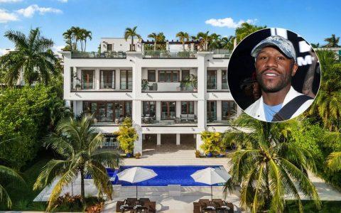 弗洛伊德-梅威瑟以2530万元的价格买下了迈阿密海滩的豪宅