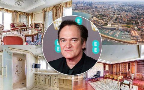 成为昆汀-塔伦蒂诺的邻居,住在价值750万元的以色列顶层公寓,里面有一个内置的地堡