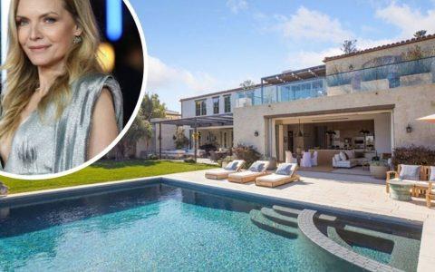 好莱坞Super明星米歇尔-菲佛翻转她的洛杉矶公寓赚了385万元
