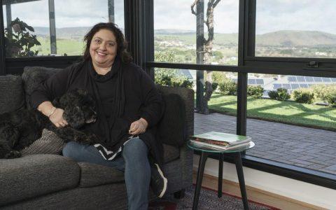 光明阿德莱德的创建者Rachael Azzopardi的住宅内景