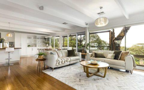 拥有令人瞠目结舌的景观的Mitcham住宅被认为是热销的