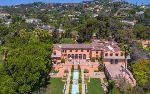 """世界上最著名的豪宅 """"加州贝弗利大厦天价降价"""