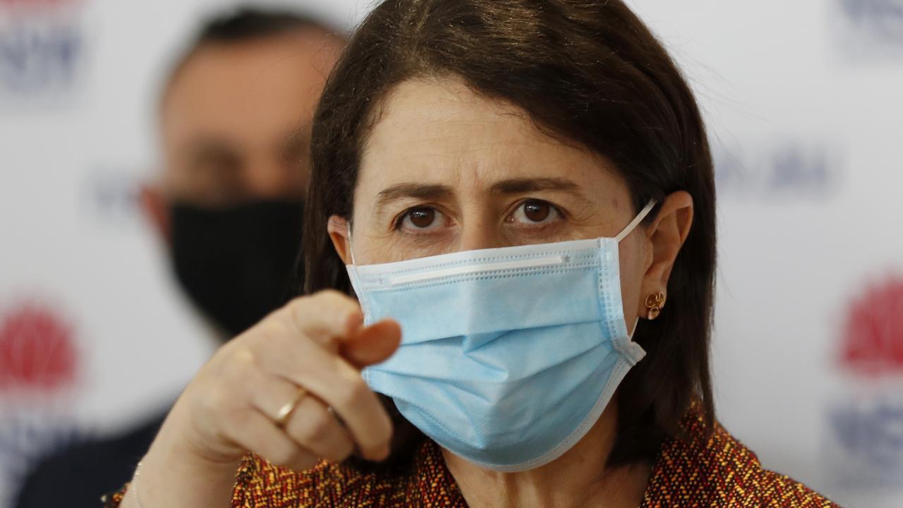 NSW Premier Gladys Berejiklian has urged everyone to get vaccinated. Picture: NCA NewsWire / Nikki Short