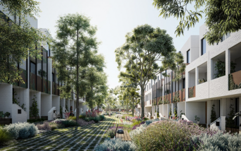 用低碳混凝土为时髦的住房提供绿色融资