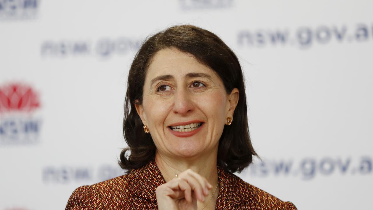 NSW Premier Gladys Berejiklian announced a